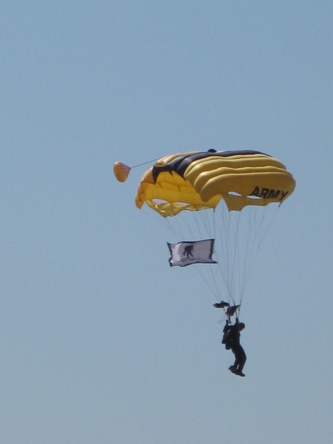 US Army Golden Knights Parachute Team - 50th Anniversary